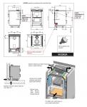 VICENZA 8 kW Nordica nerez zabudovaný do kuchyňské linky