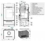 ANDRUS s výměníkem - antracit/šedá dlažba